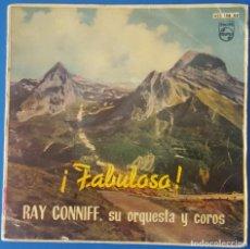 Discos de vinilo: EP / RAY CONNIFF - BESAME MUCHO - TIEMPO DE VERANO - TENTACION - BRASIL, 1960. Lote 261589225