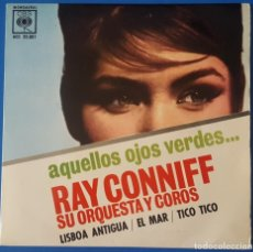 Discos de vinilo: EP / RAY CONNIFF - AQUELLOS OJOS VERDES - LISBOA ANTIGUA - EL MAR - TICO TICO, 1962. Lote 261589585