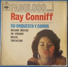 Discos de vinilo: EP / RAY CONNIFF - BESAME MUCHO - EN VERANO - BRASIL - TENTACION, 1962. Lote 261590650