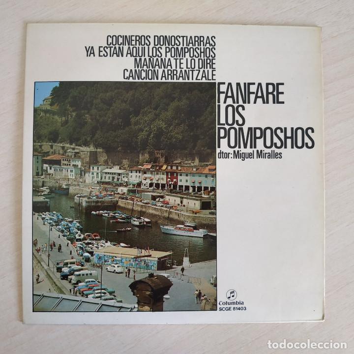 FANFARE LOS POMPOSHOS - COCINEROS DONOSTIERRAS - RARO EP COLUMBIA DEL AÑO 1972 COMO NUEVO (Música - Discos de Vinilo - EPs - Grupos Españoles de los 70 y 80)