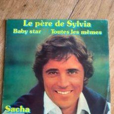 Discos de vinilo: VINILO LP SACHA DISTEL 1976 - CARRERE- 67141. Lote 261596890