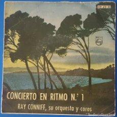 Discos de vinilo: EP / RAY CONNYFF - CONCIERTO EN RITMO Nº 1, 1960. Lote 261598010