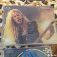 Discos de vinilo: METALLICA ROCK SAGAS 1989 FOTODISK-THE CHRIS TETLEY INTERVIEWS-MADE IN ENGLAND. Lote 261601360