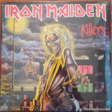 Discos de vinilo: IRON MAIDEN - KILLERS (LP) PRECINTADO !!!!!. Lote 261602035