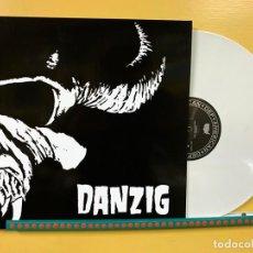 Discos de vinilo: DANZIG LP DANZIG VINILO COLOR BLANCO REEDICION LIMITADA CON PORTADA GATEFOLD. Lote 261606510