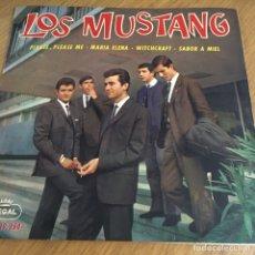 Discos de vinilo: LOS MUSTANG PLEASE PLEASE ME EP 1964 ( BEATLES ) RARO Y ANTIGUO EP. Lote 261619125