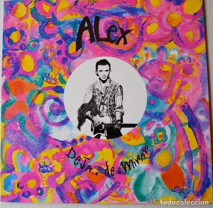 """ALEX DE LA NUEZ * MAXI 12"""" VINILO * DEJA DE MIRAR (Música - Discos de Vinilo - Maxi Singles - Solistas Españoles de los 70 a la actualidad)"""