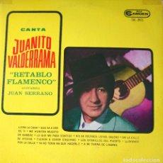 Discos de vinilo: JUANITO VALDERRAMA LP SELLO RCA CAMDEN EDITADO EN ARGENTINA. Lote 261627970