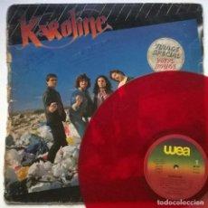 Discos de vinilo: KAROLINE. KAROLINE. WEA, FRANCE 1980 LP (RED VINYL). Lote 261635705