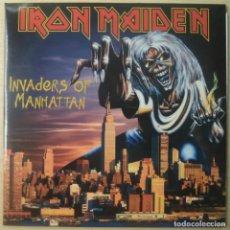 Discos de vinilo: IRON MAIDEN 'INVADERS OF MANHATTAN'. Lote 261641975