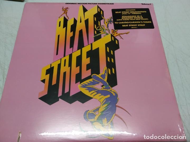 BEAT STREET (ORIGINAL MOTION PICTURE SOUNDTRACK) - VOLUME 1--EDICION AMERICANA 1984 (Música - Discos - LP Vinilo - Rap / Hip Hop)