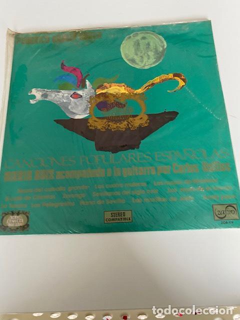 CANCIONES POPULARES ESPAÑOLAS, VINILO DE 1972 A ESTRENAR, VER FOTOS (3,33 ENVÍO CERTIFICADO) (Música - Discos - LP Vinilo - Flamenco, Canción española y Cuplé)