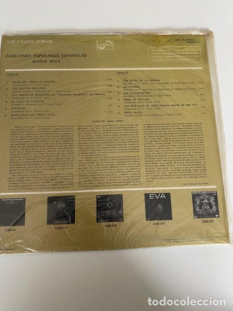 Discos de vinilo: Canciones populares Españolas, vinilo de 1972 a estrenar, ver fotos (3,33 envío certificado) - Foto 2 - 261644405