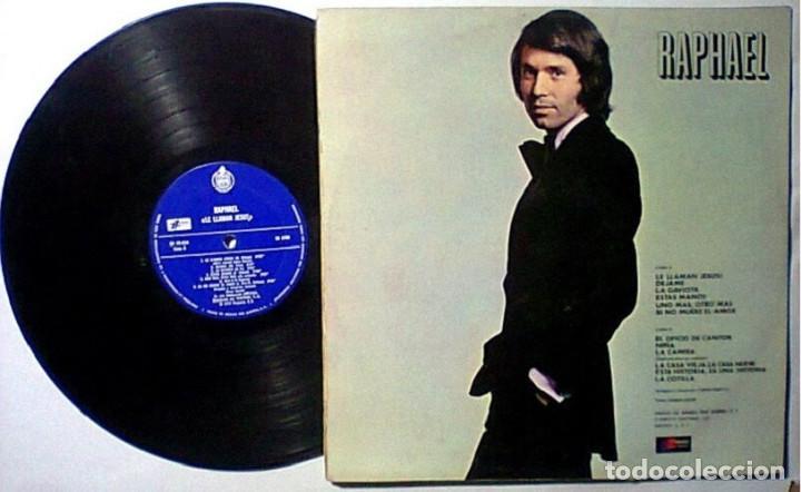 Discos de vinilo: RAPHAEL LE LLAMAN JESUS LP IMPORTADO PRIMERA EDICION - Foto 2 - 261649875