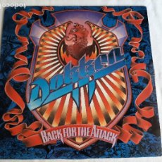 Discos de vinilo: DOKKEN -BACK FOR THE ATTACK- (1987) LP DISCO VINILO. Lote 261652980