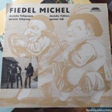 Discos de vinilo: FIEDEL MICHEL - FIEDEL MICHEL (AUTOGRAM, GERMANY, 1974). Lote 261663710