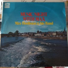 Discos de vinilo: MAX HOULISTON & HIS BAND - MUSIC NIGHT WITH MAX (TALISMAN, UK, 1971). Lote 261664520