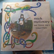 Discos de vinilo: MICK MOLONEY - WE HAVE MET TOGETHER (TRANSATLANTIC RECORDS, UK, 1973). Lote 261666495