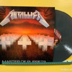 Discos de vinilo: METALLICA LP MASTER OF PUPPETS VINILO COLOR GRIS MUY RARO COLECCIONISTA. Lote 261671000