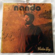 Discos de vinilo: NANDO JUGLAR - SUEÑO / CRISTIAN LAY - 1987 (PAÑOLETA RECORDS / FONORUZ). Lote 261684620