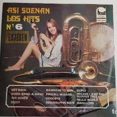 Discos de vinilo: ASI SUENAN LOS HITS Nº. Lote 261686725