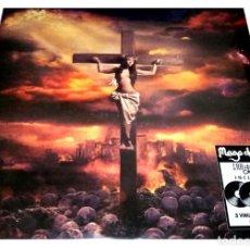 Discos de vinilo: V1642 - MAGO DE OZ. IRA DEI. TRIPLE LP + DOBLE CD. NUEVO PRECINTADO.. Lote 261688885