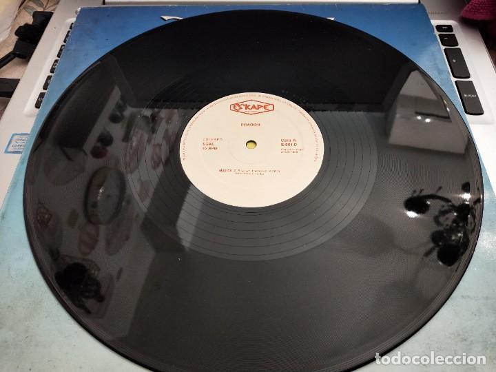 "Discos de vinilo: Dragon – Dragon Sello: Eskape Produciones – E-601-D.12"". MUY BUEN ESTADO. NEAR MINT/VG++ - Foto 3 - 261696820"