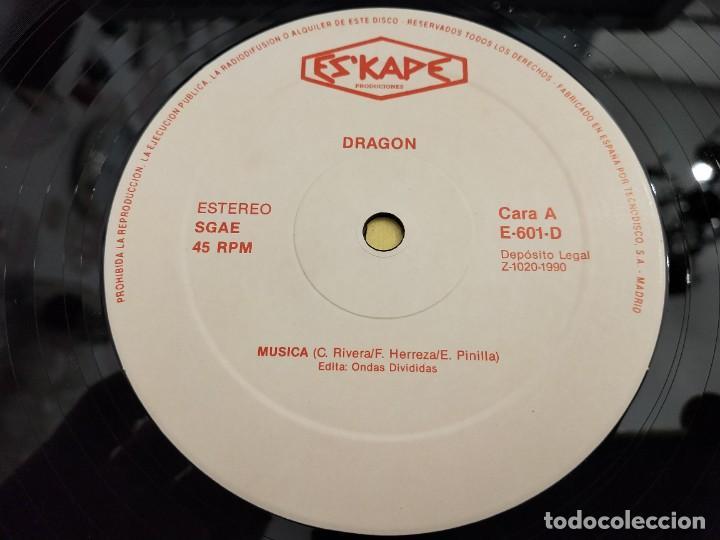 "Discos de vinilo: Dragon – Dragon Sello: Eskape Produciones – E-601-D.12"". MUY BUEN ESTADO. NEAR MINT/VG++ - Foto 4 - 261696820"