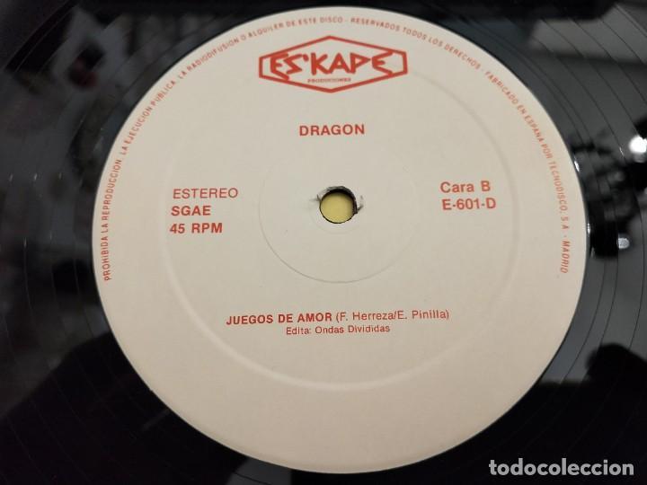 "Discos de vinilo: Dragon – Dragon Sello: Eskape Produciones – E-601-D.12"". MUY BUEN ESTADO. NEAR MINT/VG++ - Foto 6 - 261696820"
