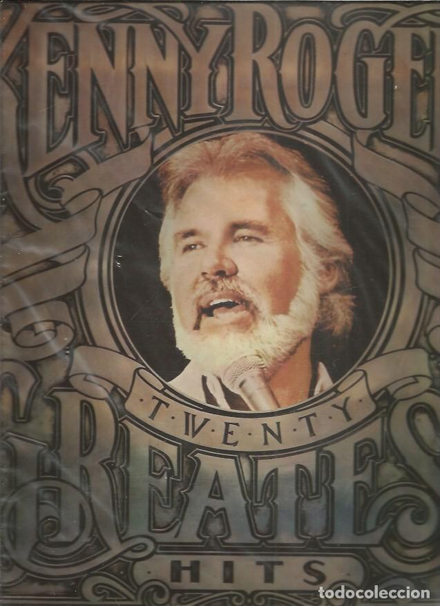 KENNY ROGERS TWENTY GREATEST HITS (Música - Discos - LP Vinilo - Pop - Rock - Internacional de los 70)