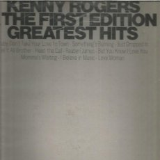 Discos de vinilo: KENNY ROGERS GREATEST HITS. Lote 261701880