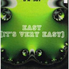 Discos de vinilo: D'N' JOY - EASY (IT'S VERY EASY) - MAXI SINGLE 1994 - ED. ESPAÑA. Lote 261780370