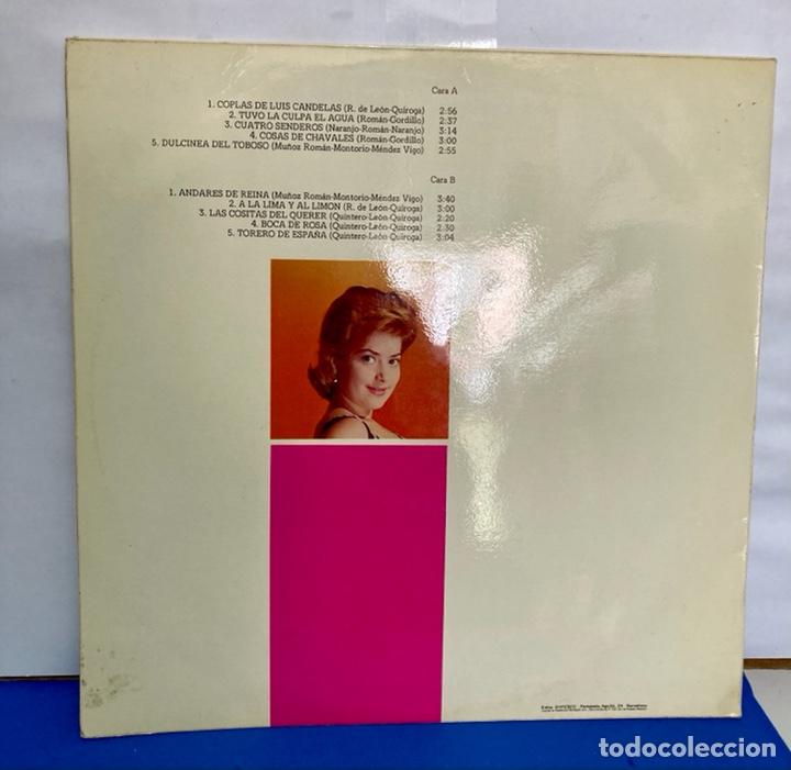Discos de vinilo: Disco vinilo LP de CONCHA BAUTISTA, grabación original - Foto 2 - 261785245