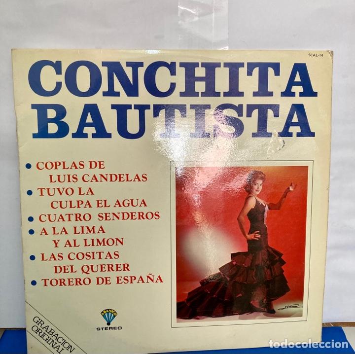 DISCO VINILO LP DE CONCHA BAUTISTA, GRABACIÓN ORIGINAL (Música - Discos - LP Vinilo - Flamenco, Canción española y Cuplé)