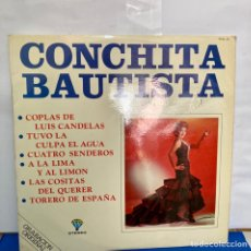 Discos de vinilo: DISCO VINILO LP DE CONCHA BAUTISTA, GRABACIÓN ORIGINAL. Lote 261785245