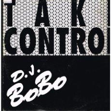 Discos de vinilo: D.J. BOBO - TAKE CONTROL - MAXI SINGLE 1993 - ED. ITALIA. Lote 261785495