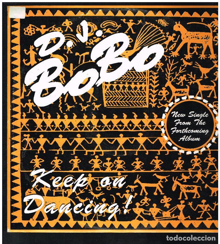 D.J. BOBO - KEEP ON DANCING - MAXI SINGLE 1993 - ED. ITALIA (Música - Discos de Vinilo - Maxi Singles - Pop - Rock Internacional de los 90 a la actualidad)