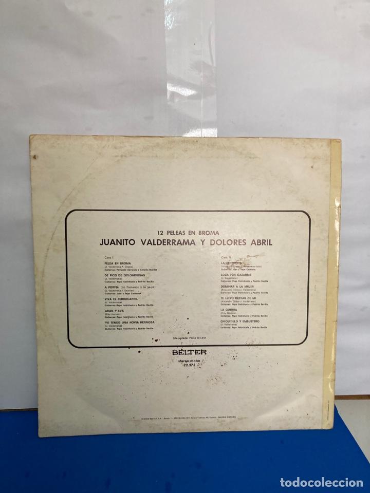 Discos de vinilo: Disco de vinilo LP , 12 peleas de broma de Juanito Valderrama y Dolores Abril - Foto 4 - 261787100