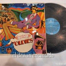 Discos de vinilo: LP THE BEATLES. OLDIES. SPAIN 1967. LABEL AZUL CLARO. Lote 261788095