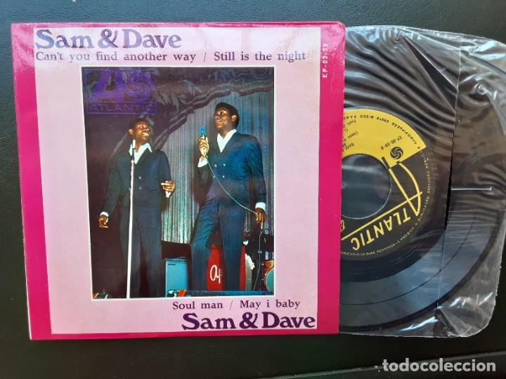 EP SAM AND DAVE, CAN'T YOU FIND ANOTHER WAY, SOUL MAN, STILL IS THE NIGHT +1 , PORTUGUÉS (Música - Discos de Vinilo - EPs - Funk, Soul y Black Music)