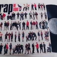 Discos de vinilo: RAP DE AQUI-LP ESPAÑOL 1990-NUEVO. Lote 261796280