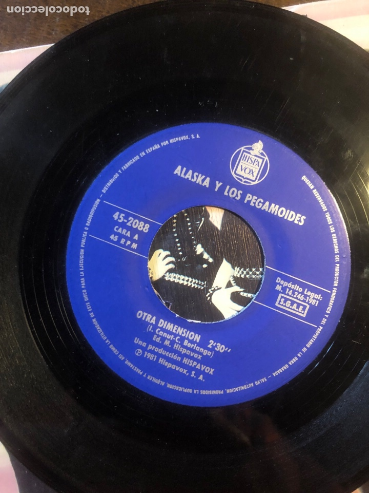Discos de vinilo: Alaska y los pegamoides 198- - Foto 6 - 261796515