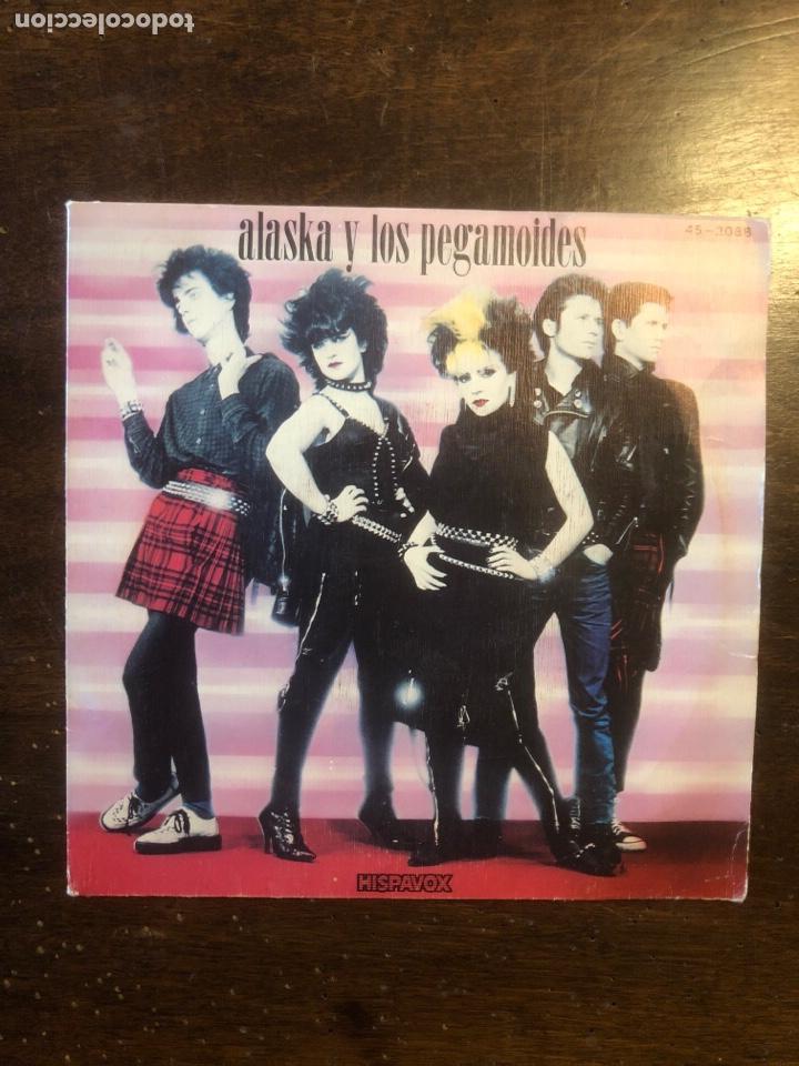 ALASKA Y LOS PEGAMOIDES 198- (Música - Discos de Vinilo - EPs - Grupos Españoles de los 70 y 80)