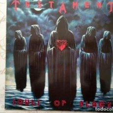 Disques de vinyle: TESTAMENT. SOULS OF BLACK. 1990.. Lote 261797435