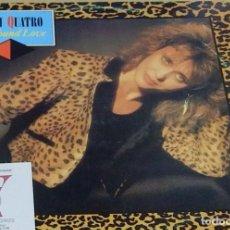 """Discos de vinilo: SUZI QUATRO * MAXI VINILO 12"""" *  WE FOUND LOVE * SPAIN TELDEC 1989 * RARE. Lote 261799480"""