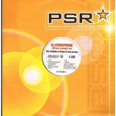 Discos de vinilo: DJ ATMOSPHERIK - WILL YOU REMEMBER ME? - MAXI SINGLE 2002 - ED. ALEMANIA. Lote 261802640