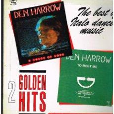 Discos de vinilo: DEN HARROW - A TASTE OF LOVE / TO MEET ME - MAXI SINGLE 1991 - ED. ITALIA. Lote 261806940