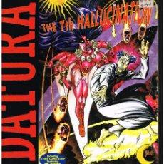 Discos de vinilo: DATURA - THE 7TH HALLUCINATION - MAXI SINGLE 1994 - ED. ITALIA. Lote 261808985