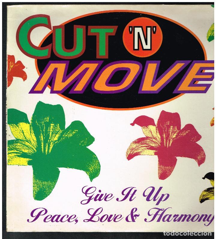 CUT 'N' MOVE - GIVE IT UP - MAXI SINGLE 1993 - ED. ESPAÑA (Música - Discos de Vinilo - Maxi Singles - Pop - Rock Internacional de los 90 a la actualidad)
