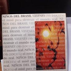 Discos de vinilo: NIÑOS DEL BRASIL-VIERNES. Lote 261811105